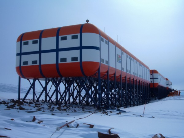 SANAE IV Research Station - Heating by Speedheat Floor Heating