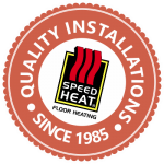 35 Years Quality Floor Heating Installations by Speedheat Floor Heating